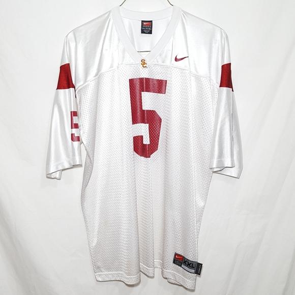 VINTAGE Nike USC Trojans Reggie Bush #5 Jersey XXL